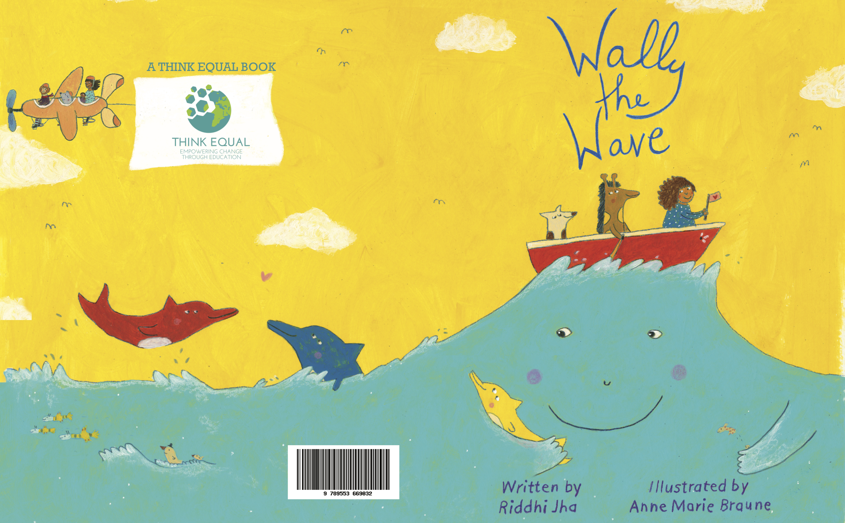 Cover of 'Wally the Wave'