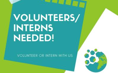 Volunteers/Interns Needed!