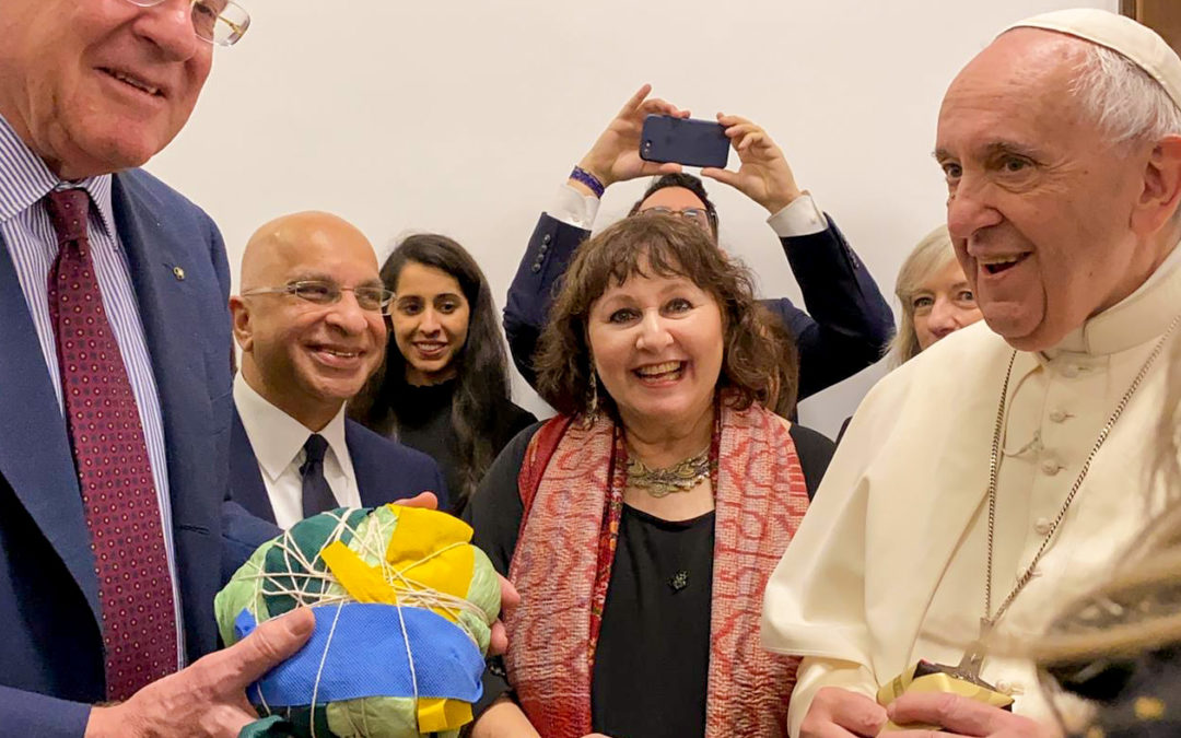 Think Equal has combined forces with the Pope, Scholas and Fondazione Milan to launch the 'Pelota de Trapo' education initiative at the Vatican.