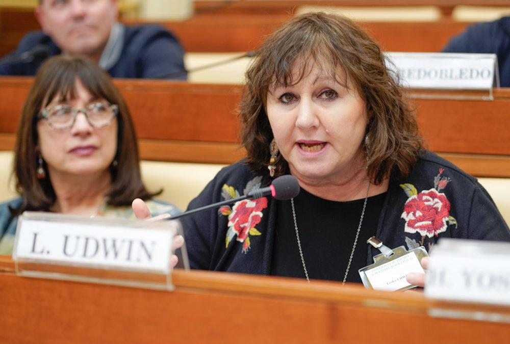 Leslee Udwin Think Equal Pontifical Academy Professor